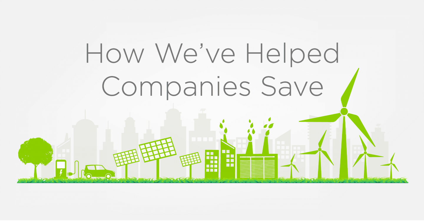 How We've Helped Companies Save